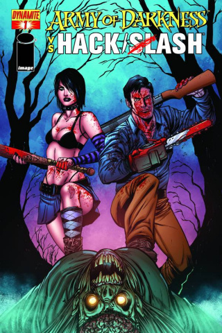 Army of Darkness vs. Hack/Slash #1 (Seeley Cover)