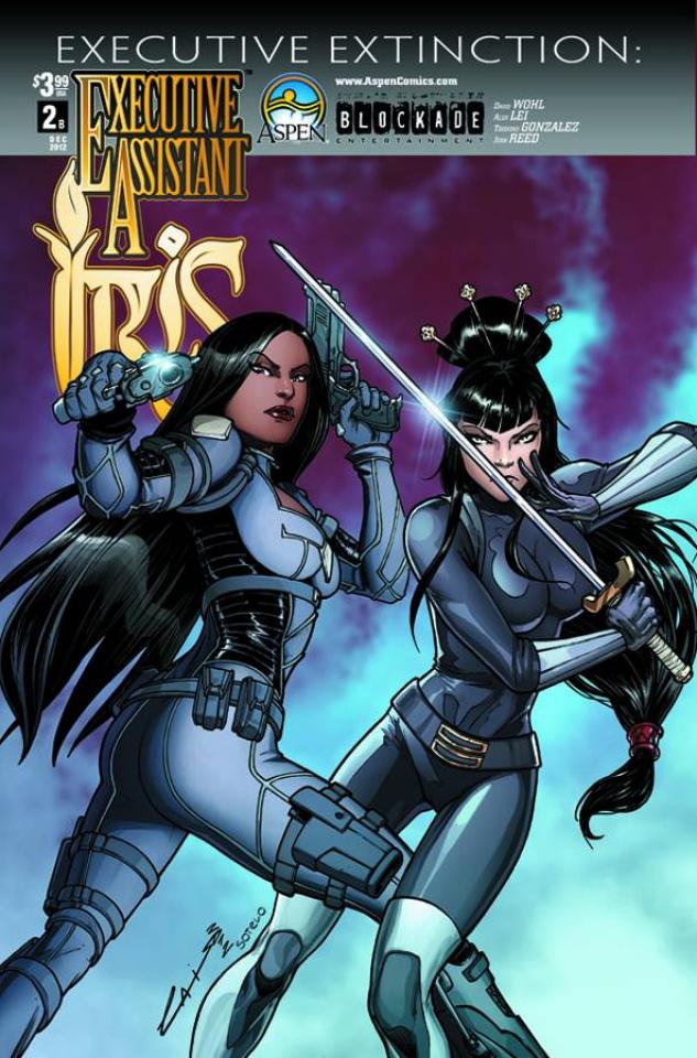 Executive Assistant Iris #2 (Laiso Cover)