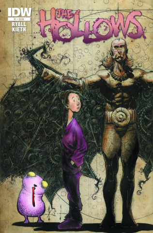 The Hollows #1 (Kieth Cover)