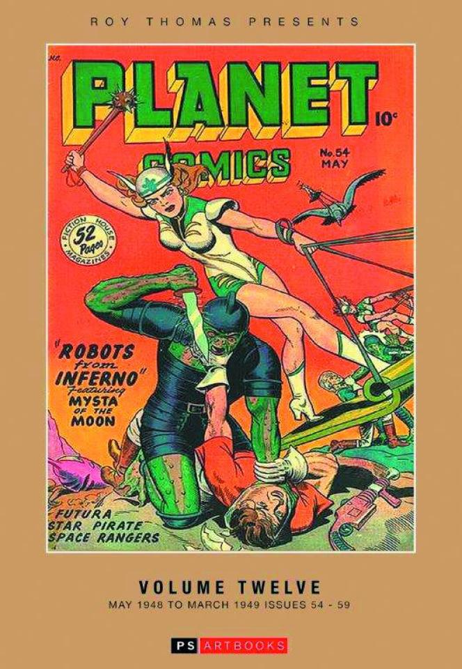 Planet Comics Vol. 12