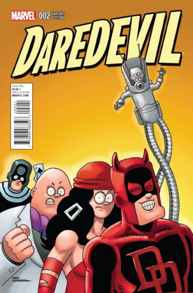 Daredevil #2 (Hembeck Cover)