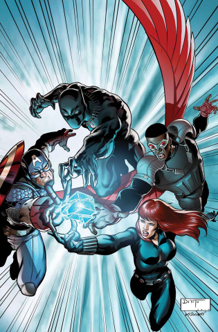 Avengers: The Shards of Infinity #1