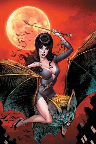 Elvira: Mistress of the Dark #6 (20 Copy Royle Virgin Cover)