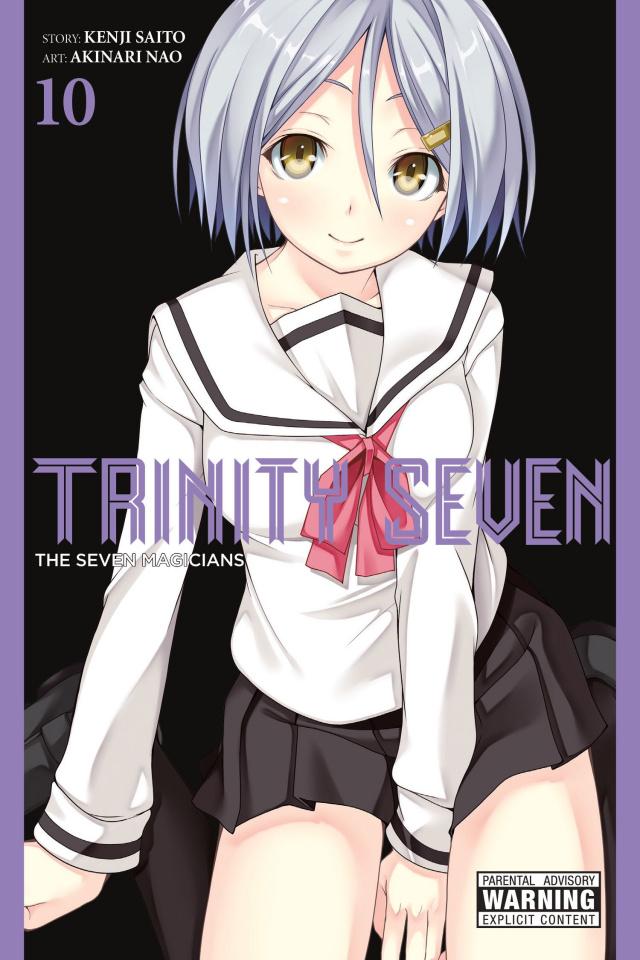 Trinity Seven Vol. 10: Seven Magicians