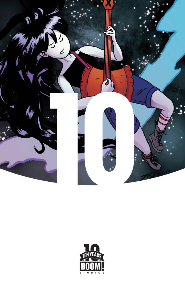 Adventure Time: Marceline Gone Adrift #1 (10 Copy 10 Year Cover)
