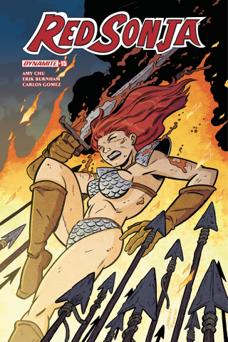 Red Sonja #15 (Marques Subscription Cover)