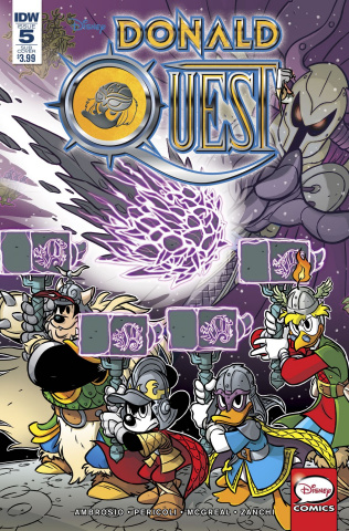 Donald Quest #5 (Subscription Cover)