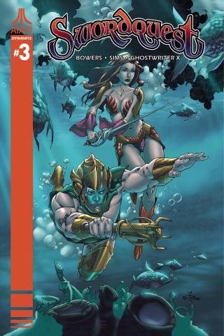 Swordquest #3 (Rubi Cover)