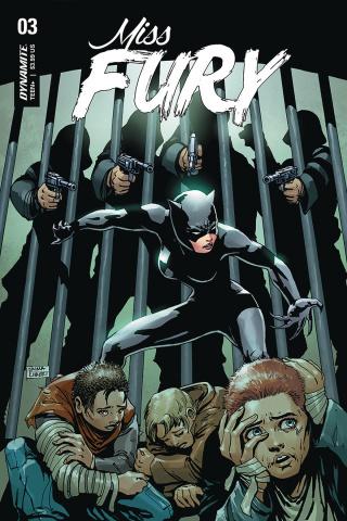 Miss Fury #3 (Kubert Cover)