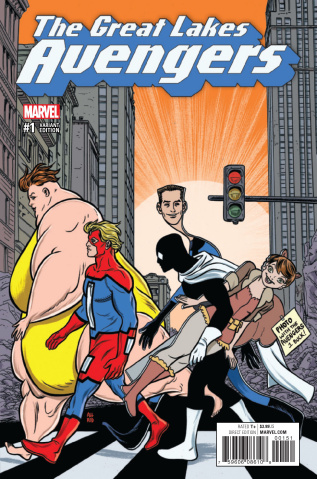 Great Lakes Avengers #1 (Allred Cover)