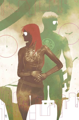 Secret Empire #9 (Sorrentino Hydra Heroes Cover)