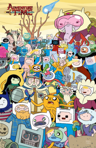 Adventure Time #50 (25 Copy Paroline Lamb Cover)