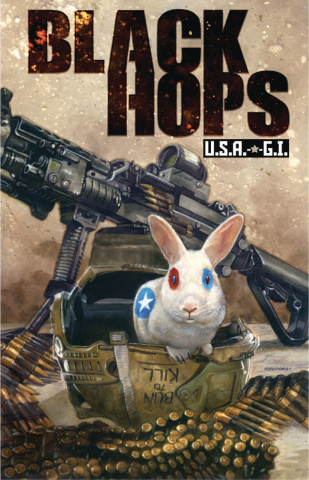 Black Hops: U.S.A.-*-G.I. #1 (Buns of the Patriots, Part 1)