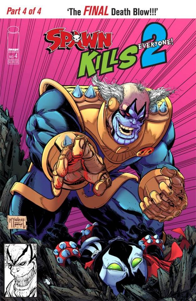 Spawn Kills Everyone Too! #4 (McFarlane Cover)