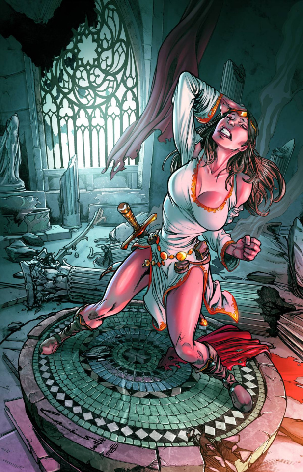 Grimm Fairy Tales: Quest #1 (Laiso Cover)
