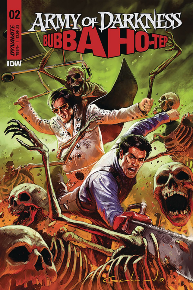 Army of Darkness / Bubba Ho-Tep #2 (Galindo Cover)