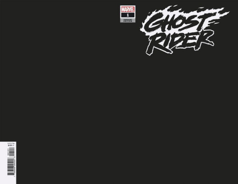 Ghost Rider #1 (Black Blank Cover)
