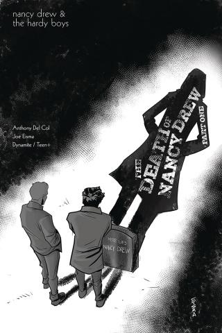 Nancy Drew & The Hardy Boys: The Death of Nancy Drew #1 (10 Copy Eisma Cover)