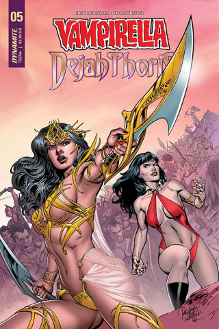 Vampirella / Dejah Thoris #5 (Pagulayan Cover)