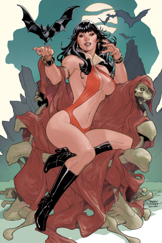 Vampirella #5 (Dodson Virgin Cover)
