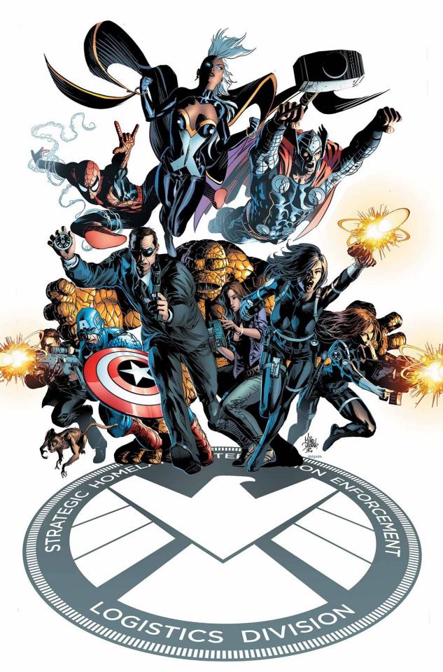 S.H.I.E.L.D. #1 (Deodato Cover)