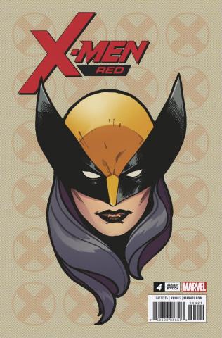 X-Men: Red #4 (Charset Headshot Cover)