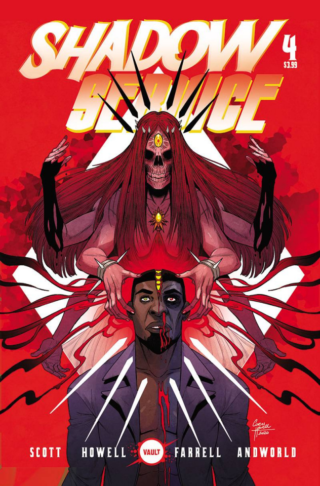 Shadow Service #4 (Howell Cover)