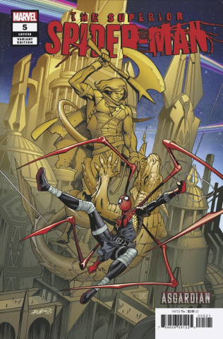 24//04//2019 AMAZING SPIDER-MAN #20 YU CONNECTING VARIANT
