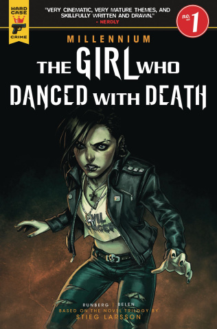 The Girl Who Danced with Death #1 (Ortega Cover)