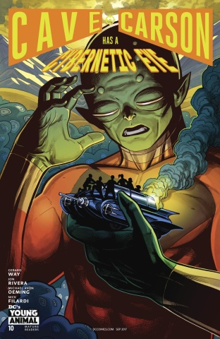 Cave Carson Has a Cybernetic Eye #10 (Variant Cover)
