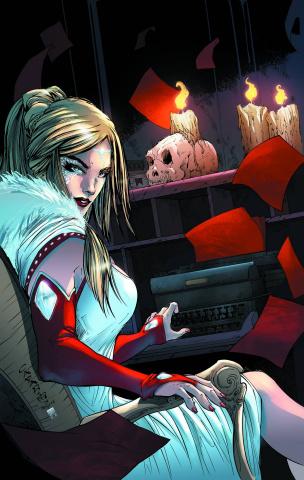 Grimm Fairy Tales: Wonderland - Asylum #1 (Cafaro Cover)