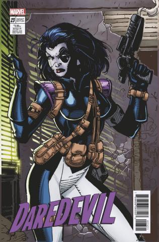 Daredevil #23 (X-Men Card Cover)