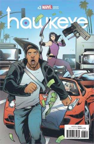 Hawkeye #3 (Torque Cover)
