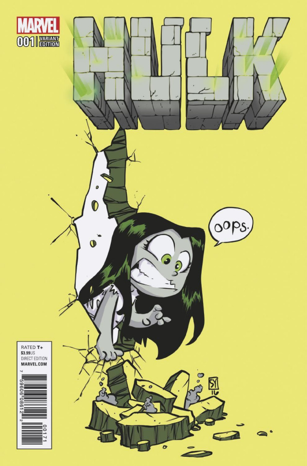 Hulk #1 (Young Cover)
