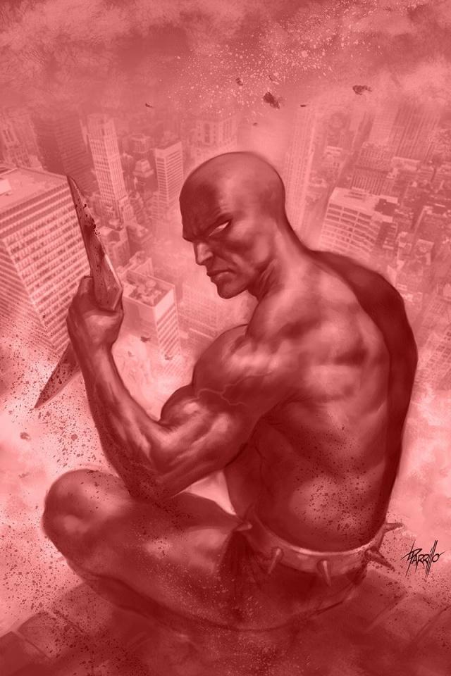 The Death-Defying Devil #4 (20 Copy Parrillo Crimson Cover)