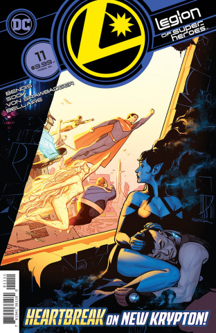 The Legion of Super Heroes #11 (Ryan Sook Cover)