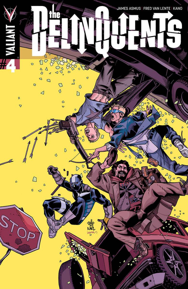 The Delinquents #4 (10 Copy Hamner Cover)