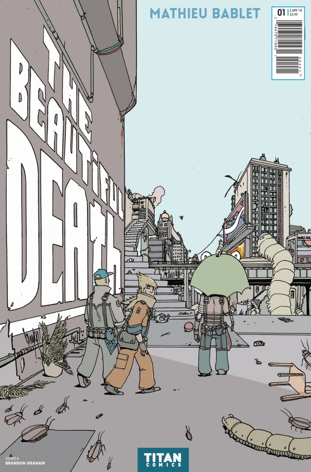 The Beautiful Death #1 (Graham Cover)