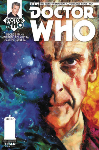 Doctor Who: New Adventures with the Twelfth Doctor, Year Two #8 (Wheatley Cover)