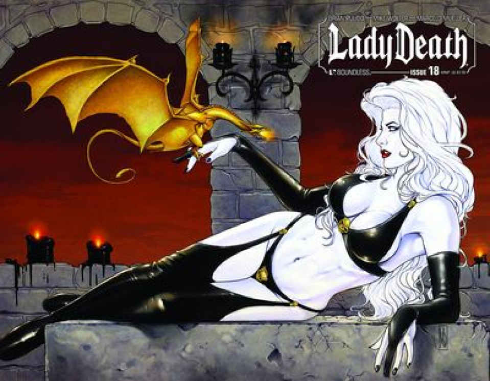 Lady Death #18 (Wrap Cover)