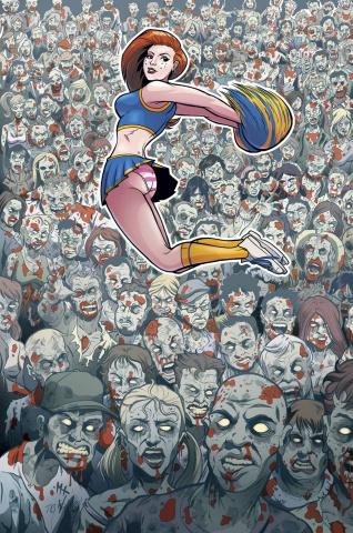 Zombies vs. Cheerleaders Halloween 2015 #1 (Hebb Cover)