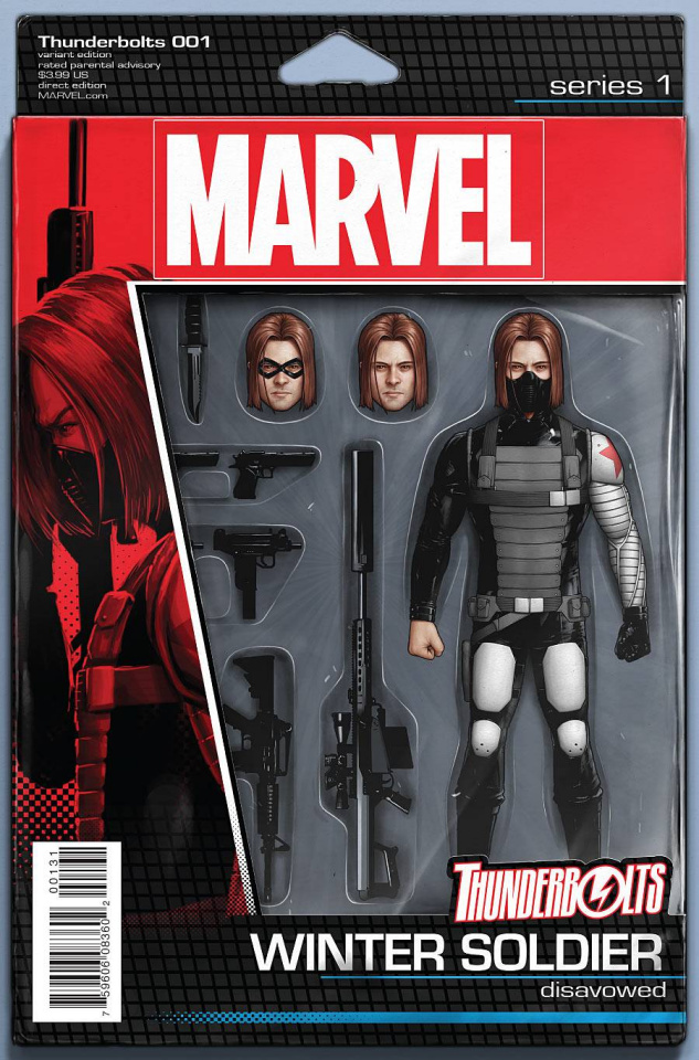Thunderbolts #1 (Christopher Action Figure Cover)