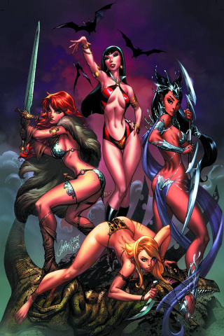 Swords of Sorrow #1 (Rare Campbell Virgin Cover)
