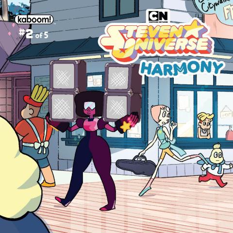 Steven Universe: Harmony #2 (Subscription Ganucheau Cover)