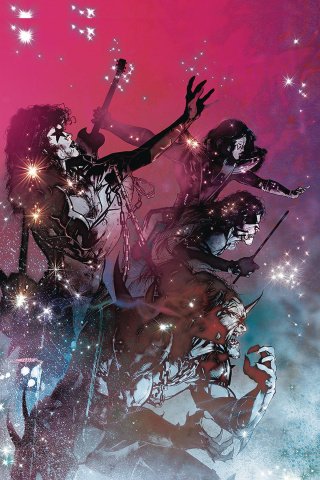 KISS: Blood and Stardust #3 (20 Copy Sayger Virgin Cover)