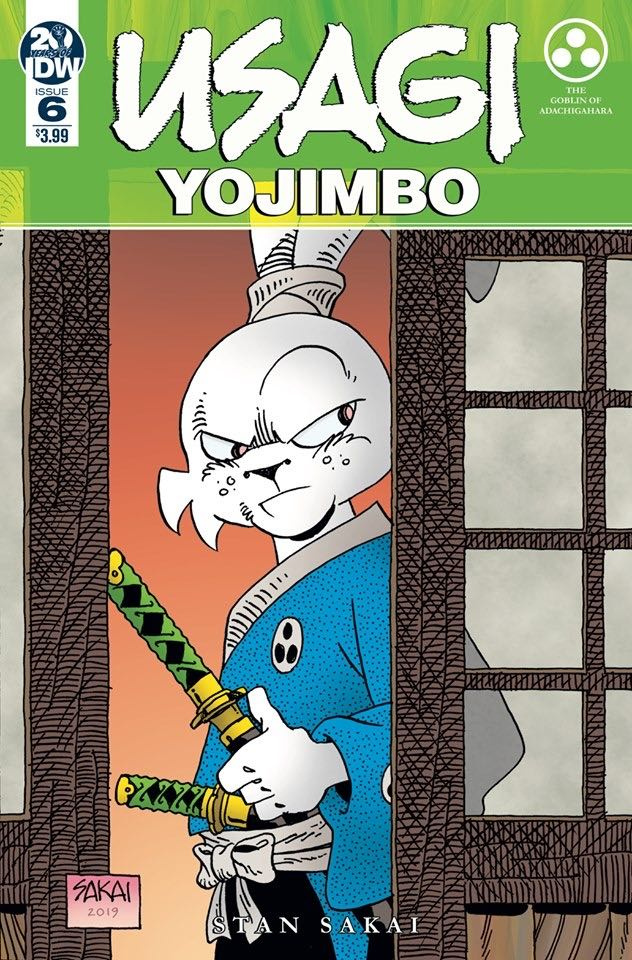 Usagi Yojimbo #6 (Sakai Cover)