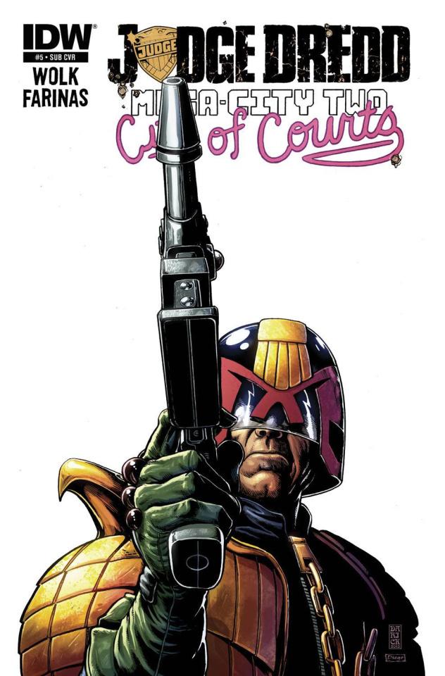 Judge Dredd: Mega-City Two #5 (Subscription Cover)