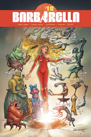 Barbarella #12 (Yarar Cover)