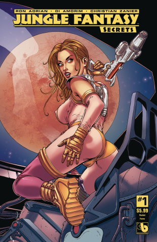 Jungle Fantasy: Secrets #1 (Rocket Fauna Cover)