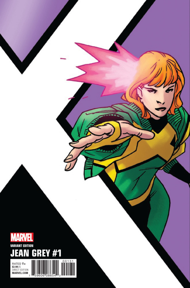 Jean Grey #1 (Kirk Corner Box Cover)